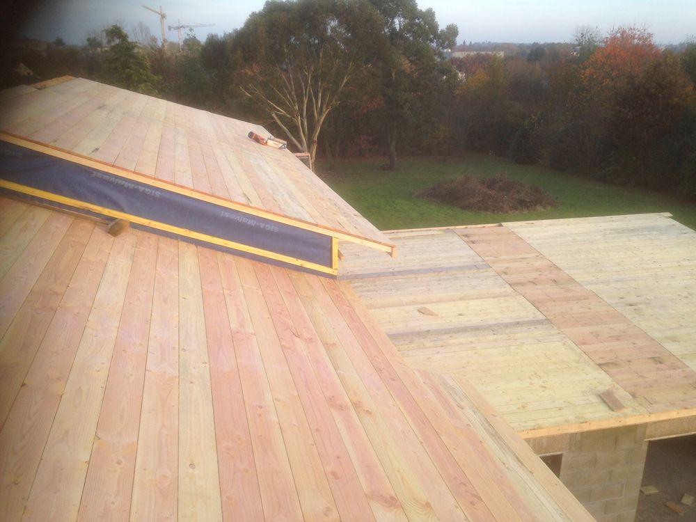 Poser lame composite image pose terrasse en point de for Bardage bois exterieur sans entretien